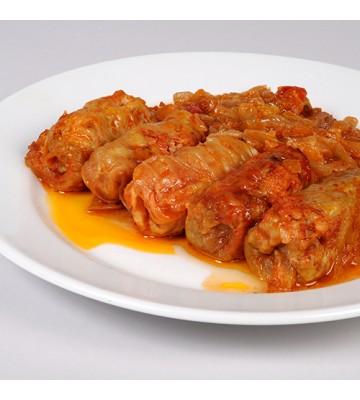 SARMALE IN FOI DE VARZĂ (porc-vită) 250 gr.
